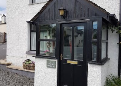 Holiday Cottage – cottage entrance